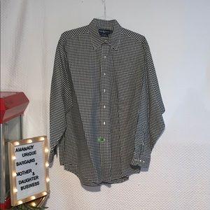Ralph Lauren Yarmouth Checkered Dress Shirt ⛳️